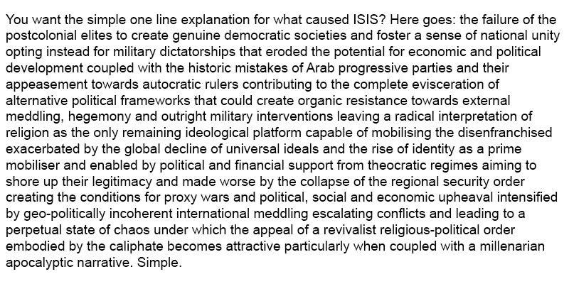 Daesh Explained